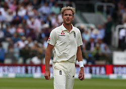 August 12, 2018 - London, Greater London, United Kingdom - England's Stuart Broad .during International Test Series 2nd Test 4th day  match between England and India at Lords Cricket Ground, London, England on 12 August  2018. (Credit Image: © Action Foto Sport/NurPhoto via ZUMA Press)