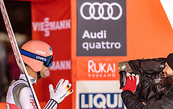 25.11.2017, Nordic Arena, Ruka, FIN, FIS Weltcup Ski Sprung, Nordic Opening, Kuusamo, Teambewerb, im Bild Pius Paschke (GER) // Pius Paschke of Germany during the Team Event of the FIS Skijumping World Cup of the Nordic Opening at the Nordic Arena in Ruka, Finland on 2017/11/25. EXPA Pictures © 2017, PhotoCredit: EXPA/ JFK