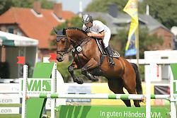 Evers, Timo, Alma-Lotta R<br /> Fehmarn - Holsteiner Masters<br /> Springpferdeprüfung 4+5j. Pferde<br /> © www.sportfotos-lafrentz.de/ Stefan Lafrentz