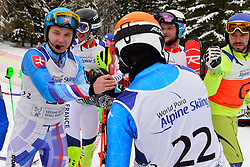 Super Combined and Super G, KRAKO Jakub Guide: BROZMAN Branislav, B2, SVK, BERTAGNOLLI Giacomo Guide: CASAL Fabrizio, B3, ITA at the WPAS_2019 Alpine Skiing World Championships, Kranjska Gora, Slovenia