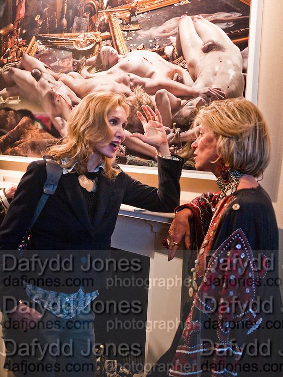 ALLEGRA HICKS; COUNTESS EDMONDO DI ROBILANT, David LaChapelle. The Rape of Africa. ROBILANT + VOENA. Dover st. London. 24 April 2010.