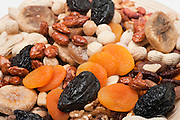 An Assortment of dried fruit