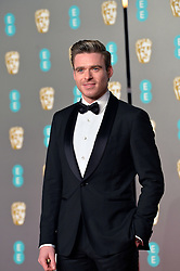 February 11, 2019 - London, New York, United Kingdom of Great Britain and Northern Ireland - Richard Madden arriving at the EE British Academy Film Awards on at the Royal Albert Hall on February 10 2019 in London, England  (Credit Image: © Famous/Ace Pictures via ZUMA Press)