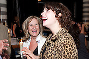 JESSIE BUCKLEY; BARONESS HELENA KENNEDY;, Massimo's restaurant at the Corinthia Hotel, Whitehall  host the after party  for 'Claire Rayner's benefit show' 5 June 2011. <br /> <br />  , -DO NOT ARCHIVE-© Copyright Photograph by Dafydd Jones. 248 Clapham Rd. London SW9 0PZ. Tel 0207 820 0771. www.dafjones.com.
