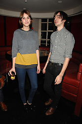 ALEXA CHUNG and    at a party to celebrate the launch of the Kova & T fashion label and to re-launch the Harvey Nichols Fifth Floor Bar, held at harvey Nichols, Knightsbridge, London on 22nd November 2007.<br />