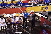 DESCRIZIONE : Berlino Berlin Eurobasket 2015 Group B Turkey Italy<br /> GIOCATORE : team Italia<br /> CATEGORIA : delusione proteste<br /> SQUADRA : Turkey Italy<br /> EVENTO : Eurobasket 2015 Group B <br /> GARA : Turkey Italy<br /> DATA : 05/09/2015 <br /> SPORT : Pallacanestro <br /> AUTORE : Agenzia Ciamillo-Castoria/Giulio Ciamillo <br /> Galleria : Eurobasket 2015 <br /> Fotonotizia : Berlino Berlin Eurobasket 2015 Group B Turkey Italy