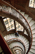 Stairway at the Rookery Building  Chicago, IL