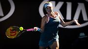 Anastasia Pavlyuchenkova of Russia in action during her quarter-final match at the 2019 Australian Open Grand Slam tennis tournament on January 22, 2019 at Melbourne Park in Melbourne, Australia - Photo Rob Prange / Spain ProSportsImages / DPPI / ProSportsImages / DPPI