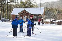 Cross country skiing at Bolduc Park and Gunstock Nordic.  Karen Bobotas for the Laconia Daily Sun