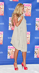 "© Licensed to London News Pictures. 07/09/2011. London, England. Katie Price launches her new magazine titled ""KATIE"" in London today . Photo credit : ALAN ROXBOROUGH/LNP"