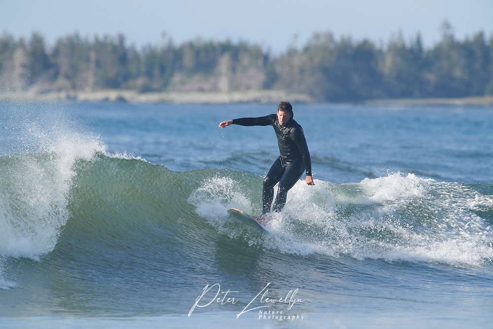 Surfers, Cherry Hill Beach, Nova Scotia, Canada