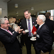 20.01.17<br /> Minister of State for Employment and Small Business, Deputy Pat Breen addressed a seminar for SMEs on The Role of Education in Supporting Small Business at University of Limerick.<br /> <br /> Pictured at the event were, Paul Dillon, UL, Dr. Liam Brown, LIT and John Walsh, CEO Shannon Microcoil Ltd.<br /> <br />  Jointly hosted by the Kemmy Business school and the faculty of Science and Engineering, the event brought together small and medium enterprises along with representative bodies, Local Enterprise Offices, Chambers of Commerce, Irish Small and Medium Enterprises association (ISME), Enterprise Ireland and the IDA. The aim of the event was to stimulate greater collaboration between third level institutes and SMEs in relation to research, education and business advice. To date, University of Limerick and Limerick Institute of Technology have supported a number of start-ups through the Nexus Innovation Centre and LIT's Enterprise Centres while academic staff have provided expert advice to local companies. Picture: Alan Place