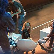 NLD/Utrecht/20150409 - Uitreiking 3FM Awards 2015, Zangeres Krystl