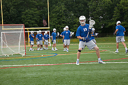 29 May 2010: Duke Blue Devils attackman Stephen Coyle (43) during practice at Essex Community College in Baltimore, MD.