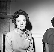 23/11/1964<br /> 11/12/1964<br /> 23 November 1964<br /> <br /> 19 Sales Girls from various parts of Ireland, at a Presentation in the Royal Hibernian Hotel <br /> <br /> Miss Mary Maloney, Todds Co. Ltd. Limerick