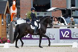Van Liere Dinja, NED, For Gribaldi<br /> Nederlands Kampioenschap Dressuur <br /> Ermelo 2017<br /> © Hippo Foto - Dirk Caremans<br /> 15/07/2017