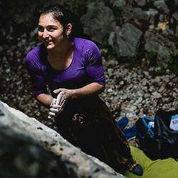 20200529: SLO, Climbing - Portrait of Mia Krampl