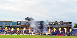General view of the Swalec Stadium as the players walk out.   - Mandatory by-line: Alex Davidson/JMP - 22/07/2016 - CRICKET - Th SSE Swalec Stadium - Cardiff, United Kingdom - Glamorgan v Somerset - NatWest T20 Blast