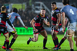 Dragons' Jack Dixon in action - Mandatory by-line: Craig Thomas/JMP - 30/09/2017 - RUGBY - Rodney Parade - Newport, Gwent, Wales - Newport Gwent Dragons v Southern Kings - Guinness Pro 14
