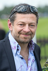 Andy Serkis at the Cartier Queens Cup Polo held at the Guards Polo Club in Windsor, Sunday 17th June 2012  Photo by: i-Images