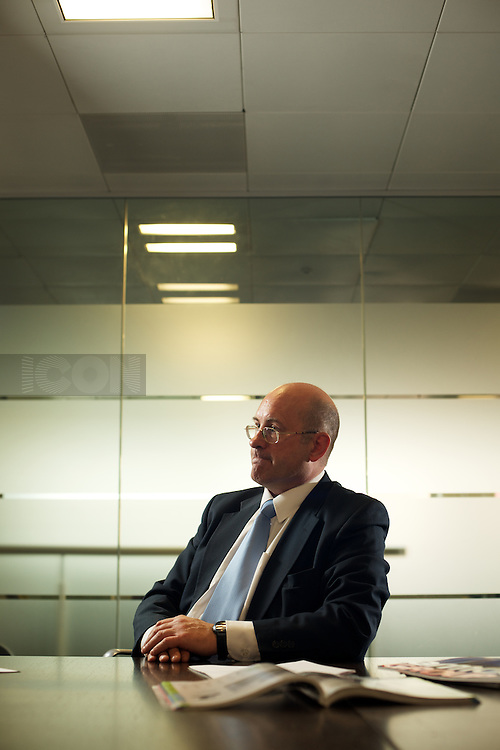 Picture by Matt Gore/iconphotomedia .Chris harris CFO Armour Group..  Photographed for CFO Magazine at IDG Communciations offices in London.