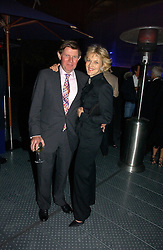 Lawyer FIONA SHACKLETON and her husband IAN SHACKLETON at a party to celebrate the 25th anniversary of leading restaurant Le Caprice held at The Serpentine Gallery, London on 3rd October 2006.<br /><br />NON EXCLUSIVE - WORLD RIGHTS