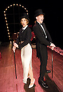 Noel &amp; Gertie<br /> by Sheridan Morley <br /> words &amp; music by Noel Coward<br /> at the Cockpit Theatre, London, Great Britain <br /> <br /> 29th September 2011 <br /> Press Photocall<br /> <br /> <br /> Ben Stock (as Noel Coward)<br /> <br /> Helena Blackman (as Gertrude Lawrence)<br /> <br /> <br /> Photograph by Elliott Franks