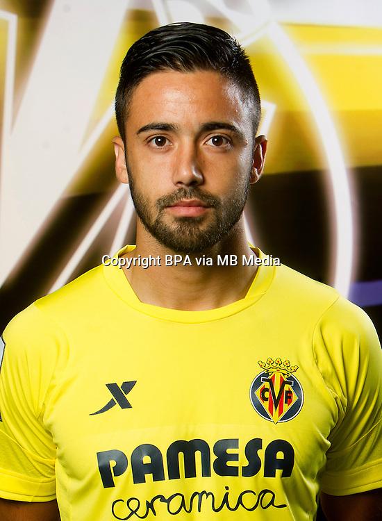 Spain - La Liga BBVA  2014-2015 / <br /> ( Villarreal C.F. ) - <br /> Jaume Vicent Costa Jorda &quot; Jaume Costa &quot;