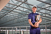 Justin Rose, Shot for BA Business Life Magazine at teh British Airways HQ.