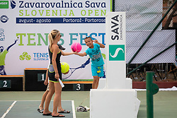 Tennis Fest at ATP Challenger Zavarovalnica Sava Slovenia Open 2018, on August 6, 2018 in Sports centre, Portoroz/Portorose, Slovenia. Photo by Urban Urbanc / Sportida
