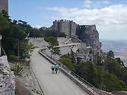 Castello Pepoli e Venere, Erice, Sicily, Italy