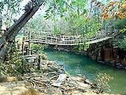 Laos bridge