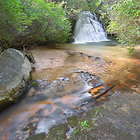 Gravely Falls, near Rosman, North Carolina
