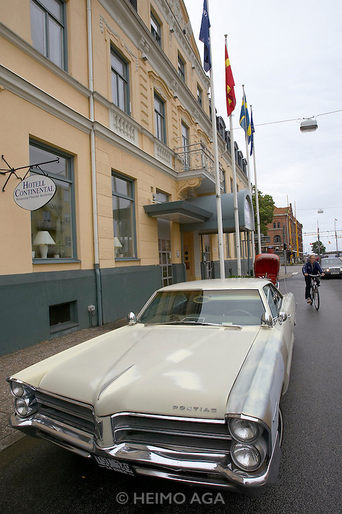 Hotel Continental where Police Officer Kurt Wallander likes to eat in Henning Mankell's books.