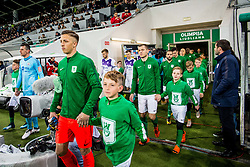 Players during football match between NK Olimpija Ljubljana and NK Maribor in Round #25 of Prva Liga Telekom Slovenije 2017/18, on March 31, 2018 in SRC Stozice, Ljubljana, Slovenia. Photo by Ziga Zupan / Sportida