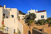 Modern architecture tourist accommodation, Los Presillas Bajas, Cabo de Gata natural park, Almeria, Spain