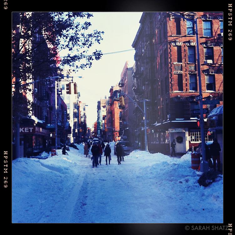Snow, Prince Street