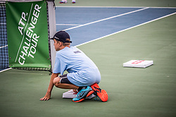 Ballboys during ATP Challenger Zavarovalnica Sava Slovenia Open 2017, on August 10, 2017 in Sports centre, Portoroz/Portorose, Slovenia. Photo by Vid Ponikvar / Sportida