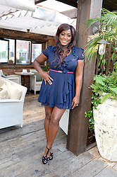 MICA PARIS attending the Warner Bros. & Esquire Summer Party held at Shoreditch House, Ebor Street, London E1 on 18th July 2013.