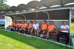 Bench of NS Mura prior football match between NS Mura and NK Krsko in 5th Round of Prva liga Telekom Slovenije 2018/19, on August 19, 2018 in Mestni stadion Fazanerija, Murska Sobota, Slovenia. Photo by Mario Horvat / Sportida
