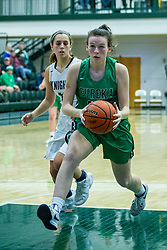 25 January 2020: Eureka Hornets v Fieldcrest Knights girls Championship during the 109th 2020 McLean County Tournament at Shirk Center in Bloomington IL<br /> <br /> Photo by Alan Look