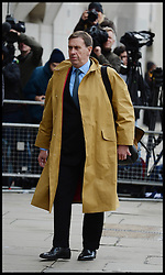 Clive Goodman is a former royal editor and reporter for the News of the World arrives at the Old Bailey for the start of the Phone Hacking Trial. The Old Bailey, London, United Kingdom. Monday, 28th October 2013. Picture by Andrew Parsons / i-Images