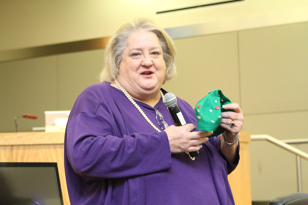 HISD paid tribute to Chief Financial Officer Melinda Garrett, who is set to retire at the end of the month after 30 years with the district.