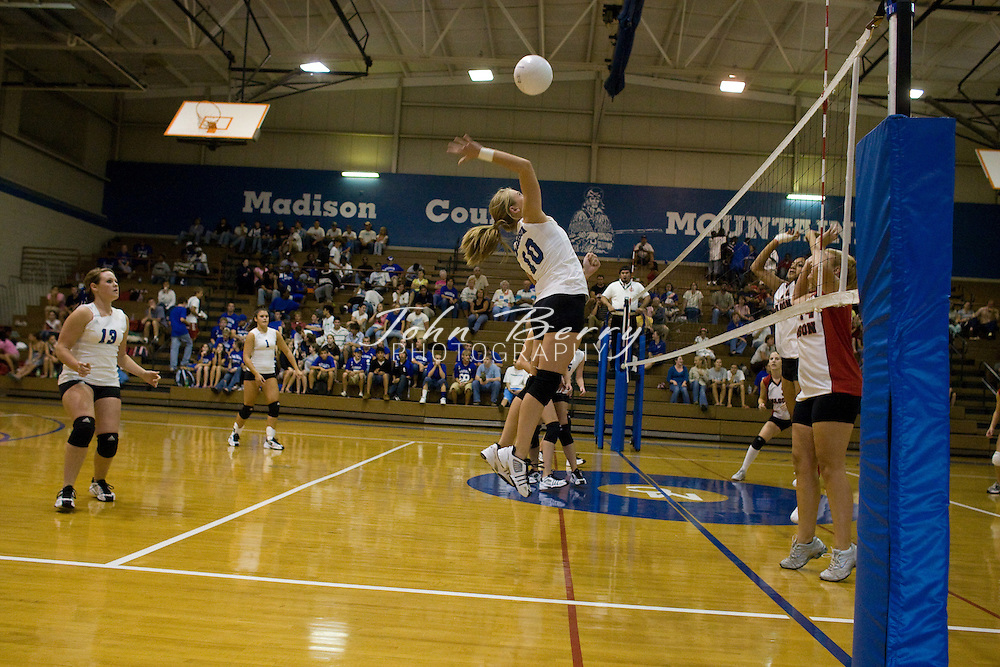 MCHS Varsity Volleyball.vs George Mason.10/4/2007..