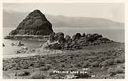 Fantastic Photos of Nevada from between the 1930s and '40s through an American Traveler's Lens<br /> <br /> The Nevada Photo Service was a Reno company founded by Lawrence Engel (ca. 1872 – 1953) in 1925. Between the late 1920s and his death in 1953, Engel made three trips a year, circumnavigating the state and taking photographs he produced at postcards.<br /> <br /> Though postcards are often dismissed as ephemeral, nobody documented Nevada so thoroughly as Engel, and this at a time when the state was undergoing a transformation from frontier backwater (in the opinion of many easterners) to a modern society.<br /> <br /> This album is arranged in a rough itinerary following a journey Engel may have taken, leaving Reno and heading out towards Wendover before turning around and taking back to Reno.<br /> ©One Man's Treasure/Exclusivepix Media