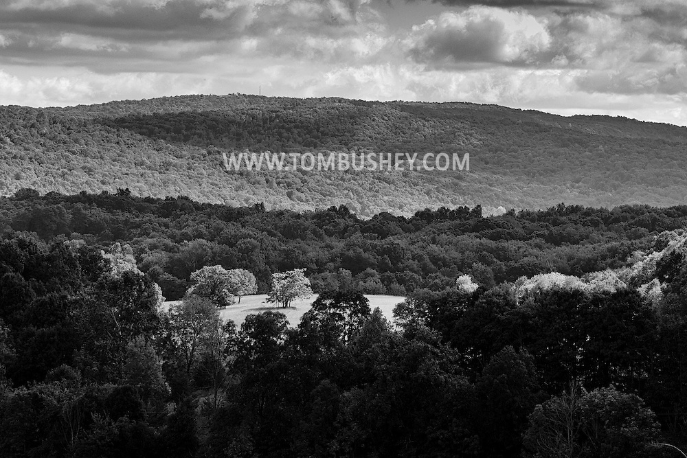 Cornwall, New York - Sunlight and shadows on Sept. 11, 2015.