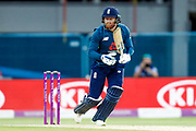 England ODI batsman Jonny Bairstow with a boundary  during the 3rd Royal London ODI match between England and India at Headingley Stadium, Headingley, United Kingdom on 17 July 2018. Picture by Simon Davies.