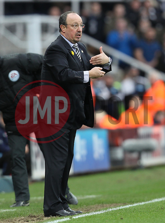 Newcastle United Manager Rafa Benitez - Mandatory byline: Robbie Stephenson/JMP - 20/03/2016 - FOOTBALL - ST James Park - Newcastle, England - Newcastle United v Sunderland - Barclays Premier League