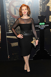 Niamh Mcgrady  during the Crime Thriller Awards. London, United Kingdom. Thursday, 24th October 2013. Picture by Chris Joseph / i-Images