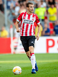 Daniel Schwaab of PSV during the Pre-season Friendly match between PSV Eindhoven and Valencia CF at the Phillips stadium on July 28, 2018 in Eindhoven, The Netherlands
